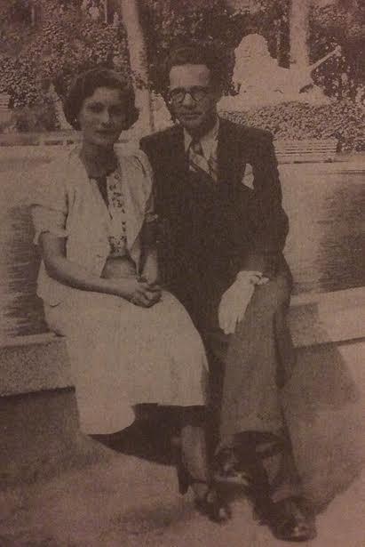 Nevrez Këlliçi me bashkshortin e pushkatuar Akil Sakiqi më 1937